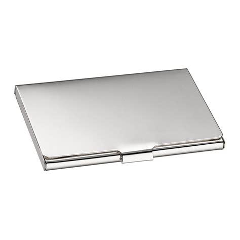 buy christofle uni business card holder amara