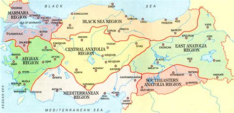Geos Mere Et Moi Blue Map travel guide to turkey turkeyvision
