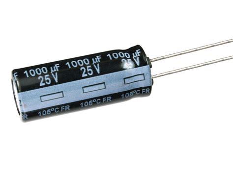 panasonic hd capacitors 6pcs panasonic fr 1000uf 25v 105c radial electrolytic capacitor low esr ebay
