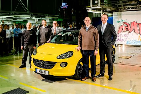 opel germany opel adam production starts in germany autoevolution