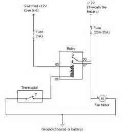 relay switches for fuel pump electric fan idle best