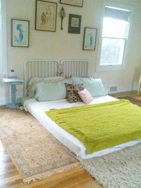 floor bed ideas www thevintagesouls com first bedroom setup after move