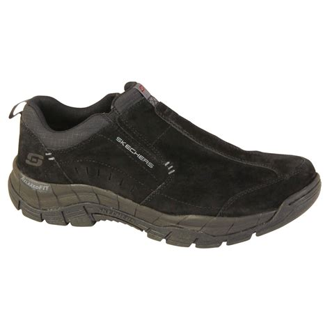 shoes sears skechers s mountain top slip on casual shoe black
