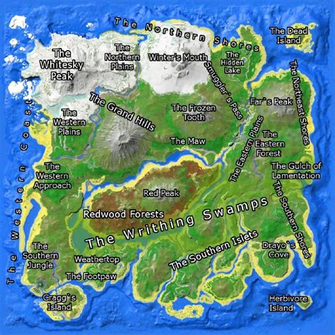 map island the island official ark survival evolved wiki
