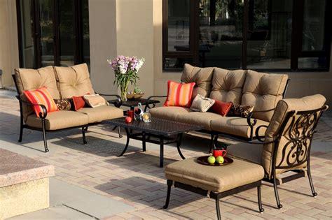patio furniture santa santa cast aluminum seating patio