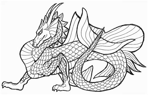 Online Coloring Pages Of Dragons | free printable dragon coloring pages for kids