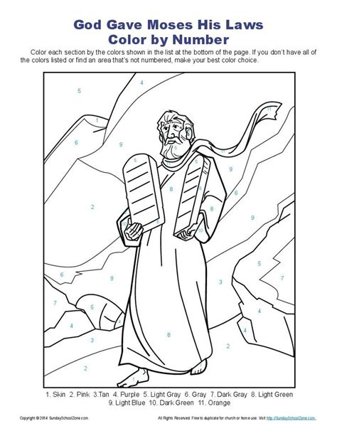 bible coloring pages color by number 10 commandments color by number page ten commandments