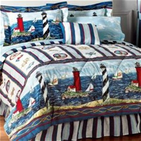 Lighthouse Comforters by New Lighthouse Comforter Sheet Set Bed In A Bag