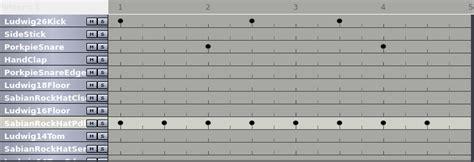 drum pattern hydrogen drum patterns programmieren mit hydrogen guitar knowhow