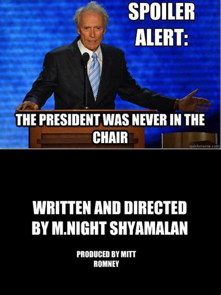 M Night Shyamalan Meme - clint eastwood meme internet immortality 32 pics kill