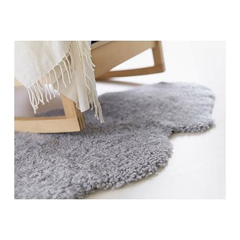 ikea sheepskin ludde sheepskin grey ikea