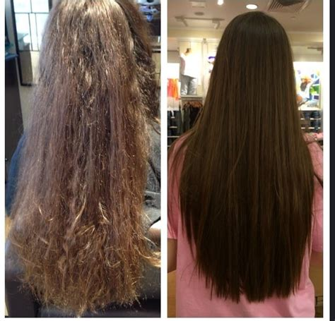 treatment for damaged hair from curling iron keratin smoothing treatment by amy sapia smooths hair and