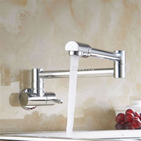 shop giagni contemporary polished chrome 1 handle pot aliexpress com buy contemporary simple type wall mounted