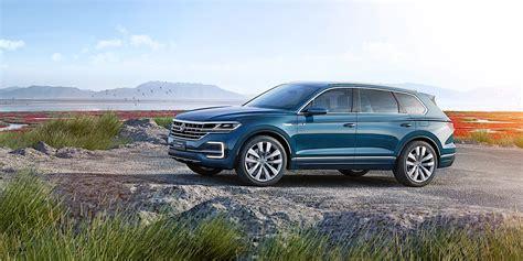 Is Audi Volkswagen by 2018 Volkswagen Touareg Spied Benchmarking Against Audi Q7