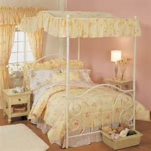 Canopy Bed Bedding Canopy Bedding Flower Fields Comforter