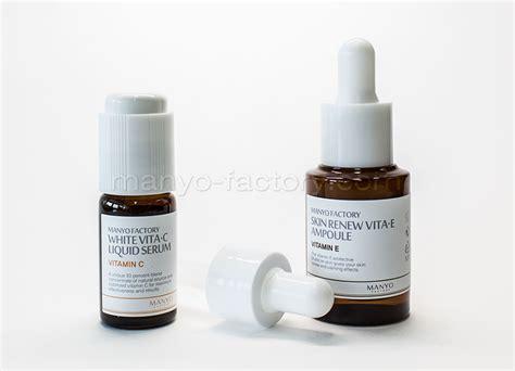 Serum Whitening Vit C white vita c liquid serum whitening serum with vitamin c serum essence manyo factory