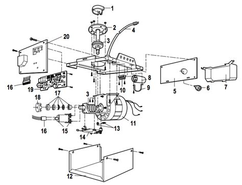 Liftmaster 1345 1355 Garage Door Opener Parts Garage Door Parts Supply