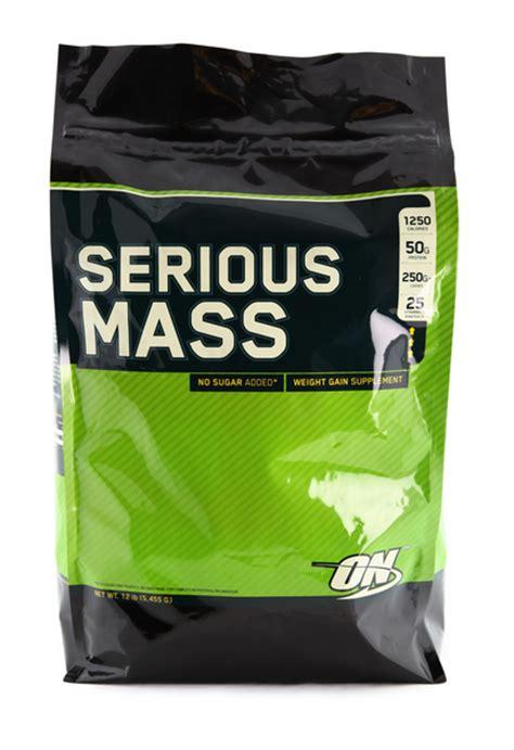 Suplemen Fitness On Serious Mass Gainer 12 Lbs Murah 1 serious mass 12 lb optimum nutrition suplemenfitness net