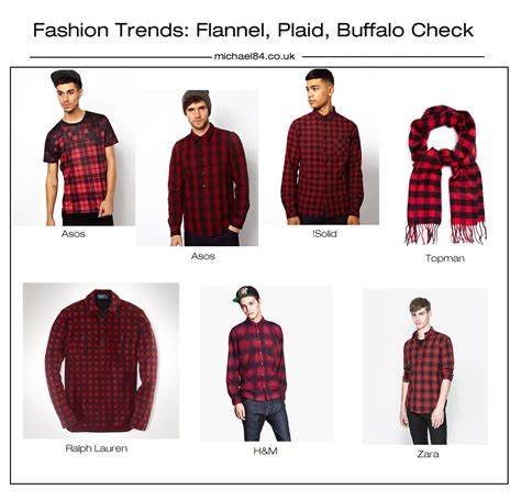 difference between flannel and plaid fashion trends checks plaid flannel prints and