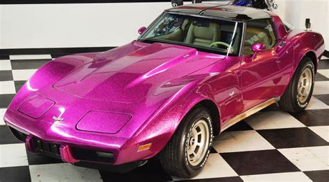 corvette purple corvettes on ebay custom disco purple 1979 corvette