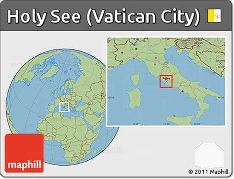 vatican city world map free savanna style location map of holy see vatican city