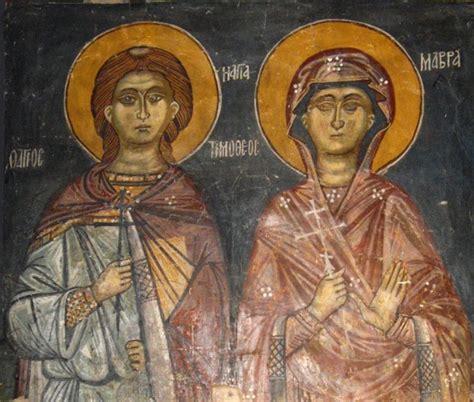 Tim Hail Saints by δόξα σοι ο θεός πάντων ένεκεν Holy Martyr St Timothy
