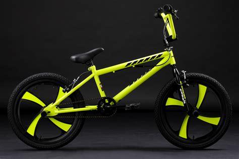 Freestyle Bmx Cobalt Neon Green Mag Wheels 360 176 Rotor 20