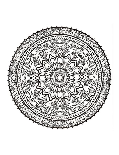 mandala coloring in book mystical mandala coloring book