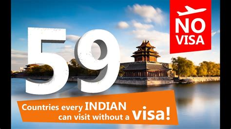 59 countries visit without visa from india