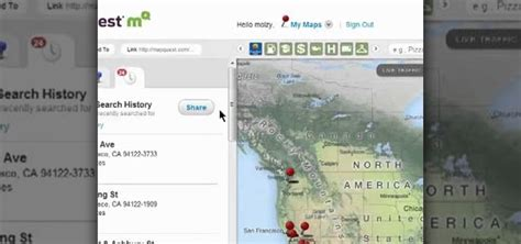 Address Search Map How To Accessing Your Address Search History On Mapquest Maps 171