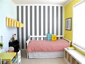 Ideas wall painting techniques stripes decorating ideas wall painting