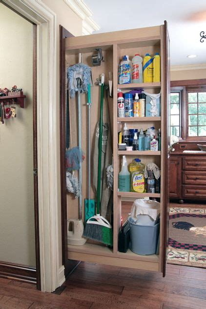 Mop Closet by Best 25 Cleaning Closet Ideas On Organizing