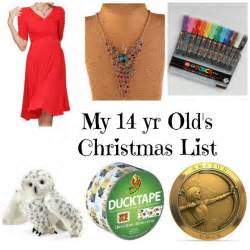 this is my 14 year old daughter s christmas list