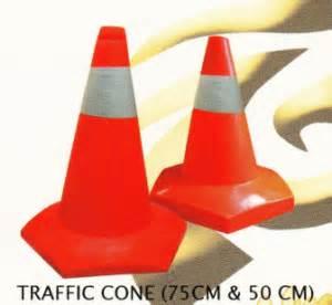 Stick Cone Tinggi 80 Cm traffic cone 75 cm 50 cm
