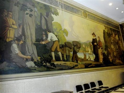 Painting Yonkers by Mural Depicting Bronx Founder Damaged In Construction Ny