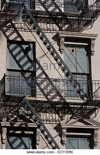 Apartment Escape Stairs Escape Ladders Stock Photos Escape Ladders Stock Images