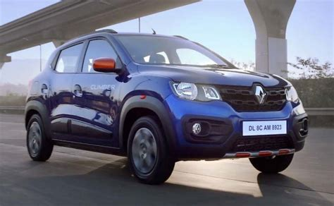 renault climber interior renault kwid climber price features engine specs