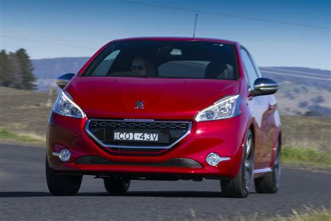 peugeot 208 sedan peugeot 208 gti review caradvice