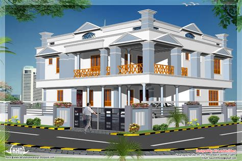 4 bedroom 2881 sq feet 2 floor home design kerala home