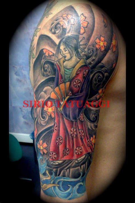 tattoo geisha immagini pin tattoo geisha spalla on pinterest