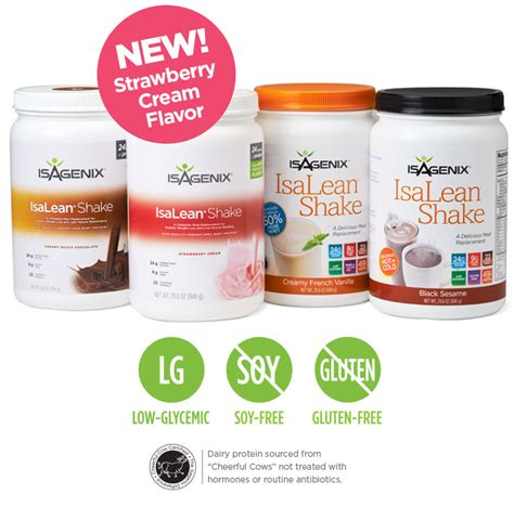 Detox Meal Replacement Shakes by Isalean Shakes Improved Order Isagenix