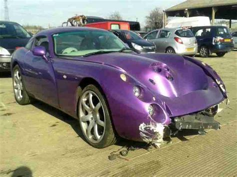 Used Tvr Cars For Sale Tvr Tuscan 4ltr Speed 6 2000 Salvage Cat D Car For Sale