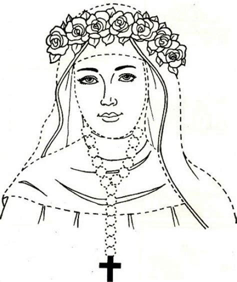 imagenes para colorear a santa rosa de lima im 225 genes para colorear de santa rosa de lima netjoven pe