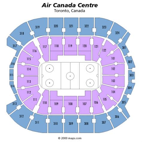 air canada centre floor plan air canada centre seating chart air canada centre tickets