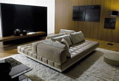 two sided sofa perfect sofas for socializing curved and double sided contemporary sofas by i4 mariani