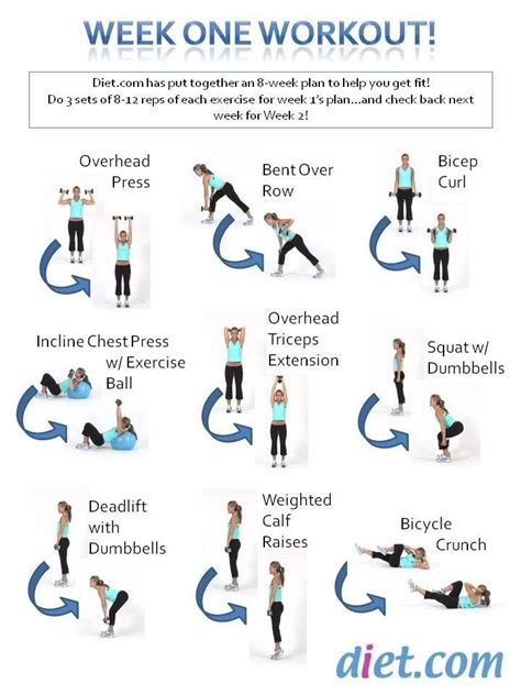 week routine 9 best images about 8 week fitness challenge on