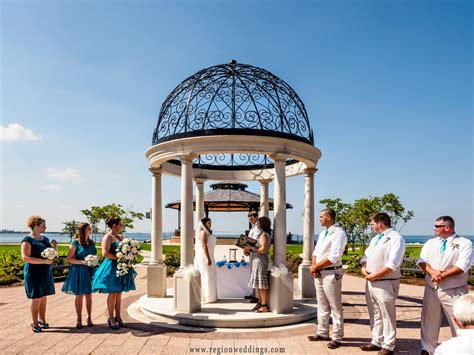Wedding Ceremony Park by Lake Michigan Wedding Region Weddings