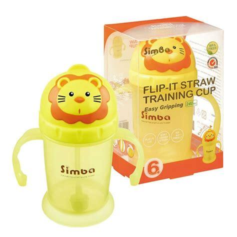 Simba Flip It Baby Straw Cup Gelas Latih Sedotan Bayi 73 simba flip it straw cup baby store baby store