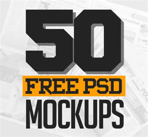 design font psd 50 best free psd mockup templates freebies graphic