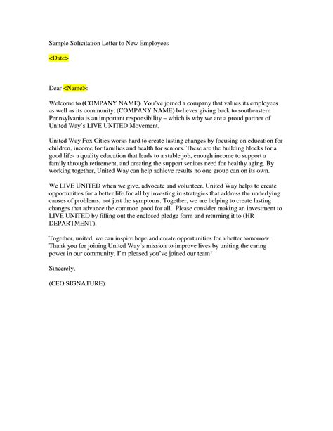 Business Letter Solicitation Template best photos of business solicitation letter business